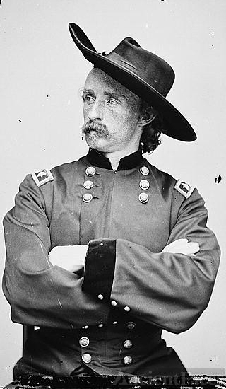 Major General George Armstrong Custer