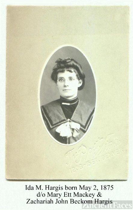 Ida Hargis Teeters Hughes