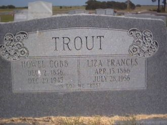 A photo of Howell C Trout