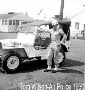 Tom Wilson Air Police,New Castle Delaware.