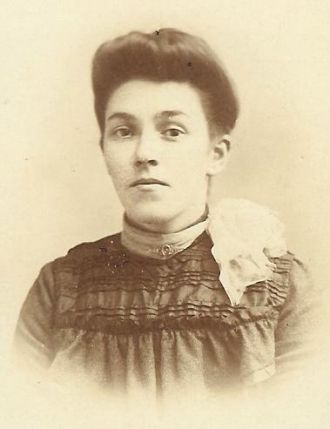 A photo of Aunt Lillie