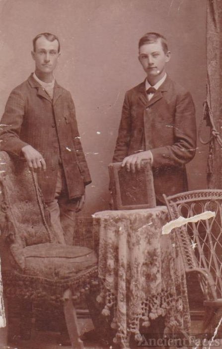 Cabinet Card of Unknown Men
