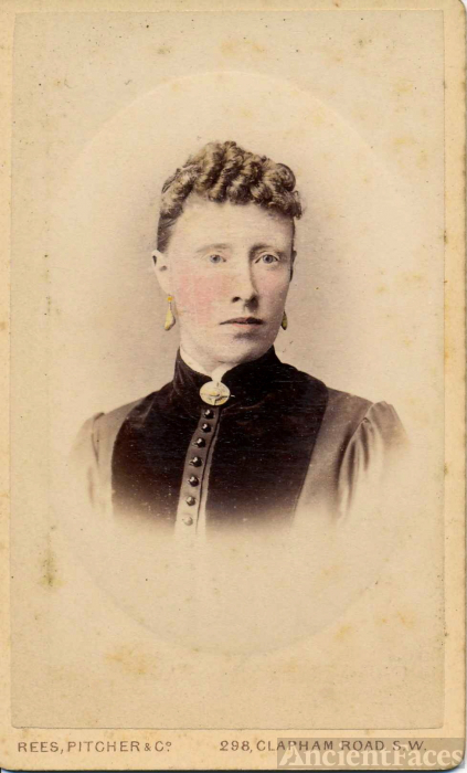 Louisa Dew c. 1889
