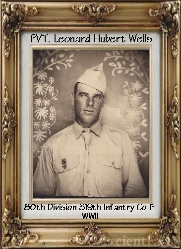 PVT. Leonard Hubert WELLS
