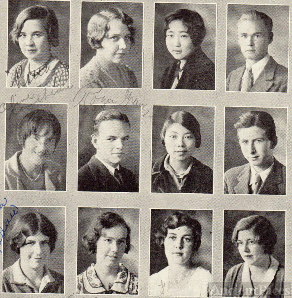 1930 Watsonville Union High School Graduation