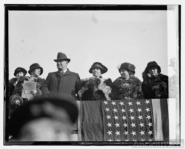 Mrs. Coolidge & Denby at Marine - Army game, [12/1/23]
