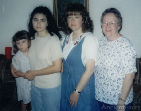 Patsy McEntire - 4 Generations