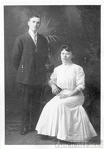 Francis William & Sofia Eriksdr Johnson
