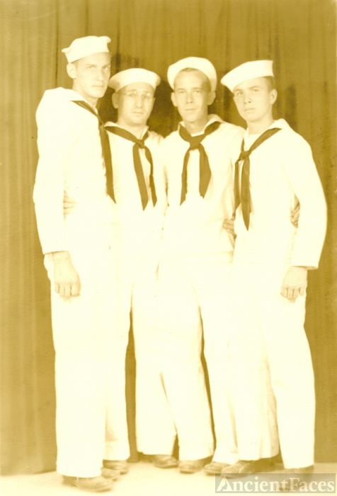 edward e clator and friends in navy