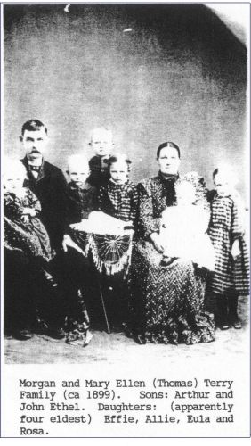 Morgan Terry, Mary Ellen Thomas and Family