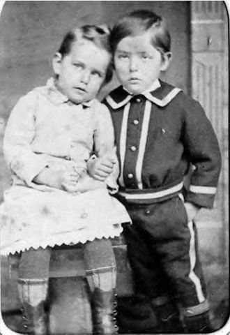 Unknown girl & boy in Frederick, MD
