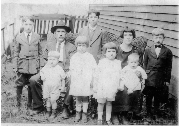 William and Fannie Baber Family, West Virginia