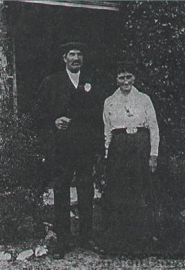 Walter & Mary Ann Button, Canada 1892
