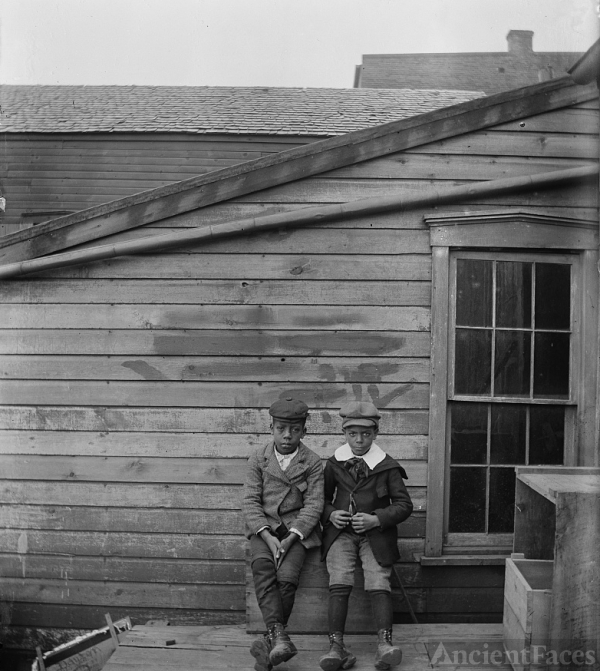 Clarence Liv & Alonso Tucker 1897 Ohio
