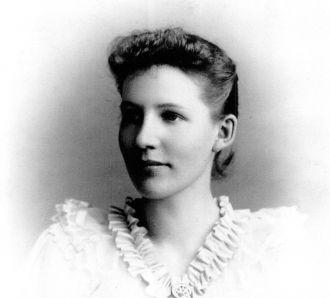A photo of Alberta May (Gray) Gould