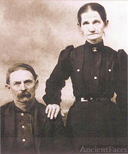 William & Harriet (Ward) Arthur, Alabama 1865