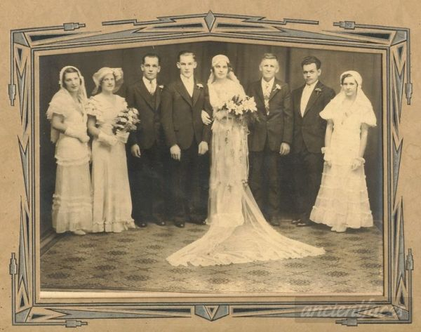 Wedding of Gerard Gagnon & Beatrice Michaud