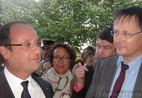 President Hollande & Charles Moloster