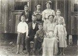 Gertrude Curtis (Dove) Moore family