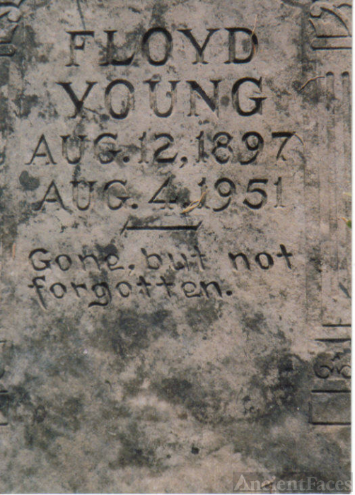 Headstone of Floyd Young
