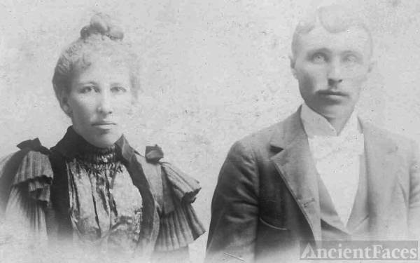 Maria & Gottherd Hedberg Seattle Washington 1890