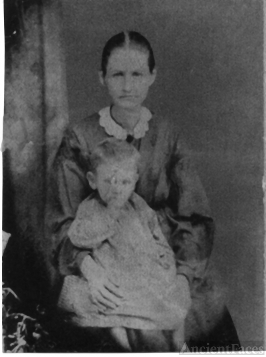 Julia Ginder Arledge & child