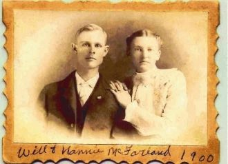 Wm C. McFarland & Wife Nancy Francis Halford