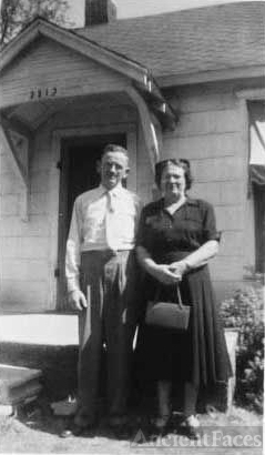 Frank Hugh and Irma June Carman McKenzie