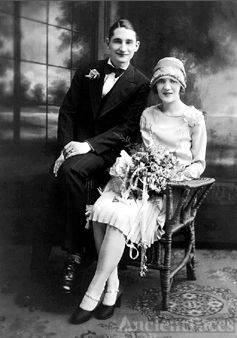 William & Rose (Falque) Barthel, Wisconsin 1927
