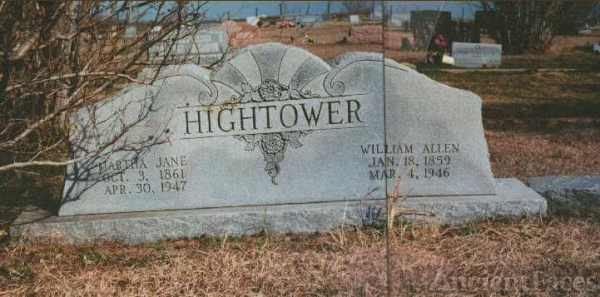 William Allen Hightower Gravesite