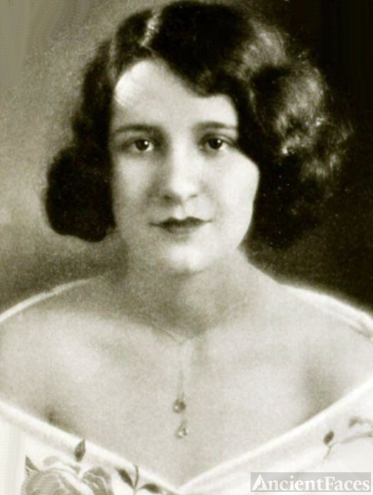 Frances A. Clutts, Ohio, 1928