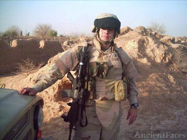Larry Staggs, Afghanistan