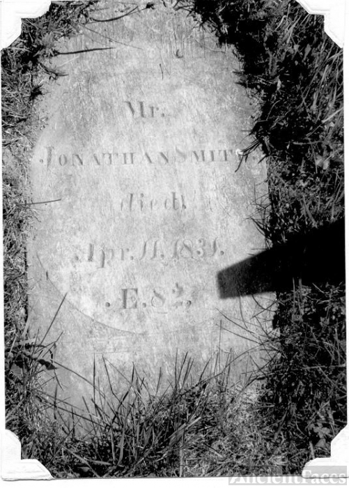 Gravestone of Jonathan Smith Sr