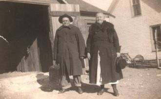 Joe and Angie (Lavoie) Dumas 1921