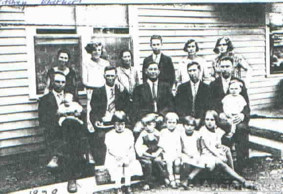 Eberhart siblings & Ritchey family