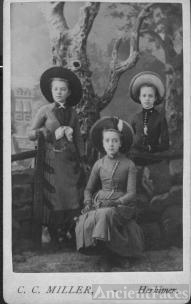 three little girls in Herkimer, NY