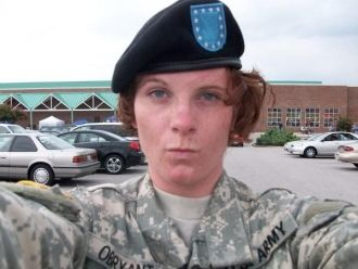 Alecia O'Bryant at bct - Fort Jackson