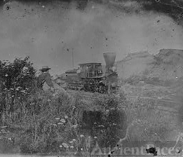 [Virginia. Locomotive on the Orange & Alexandria Railroad]