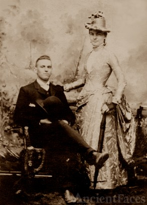 Arthur George Rupp and Laura Eldora Wilkinson,Rupp
