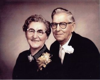 Richard Henry Cummings and Mary Myrtle Bramlett