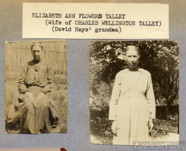 Elizabeth Ann Flowers Talley