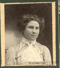 unknown young lady