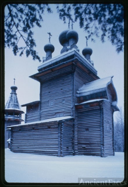 Church of the Ascension, from Kushereka village (Onega...