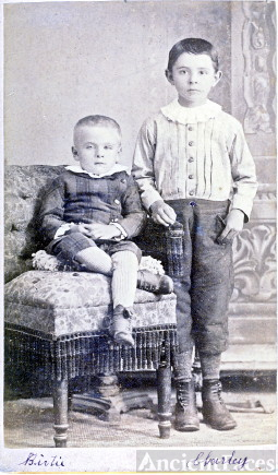 Bertie and Charley Fisher