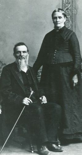 Anson Call and Mary Flint
