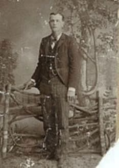 Hubert Harris Buck, Age 18