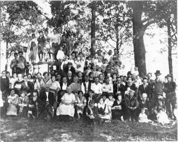 The Presswood family reunion of 1924