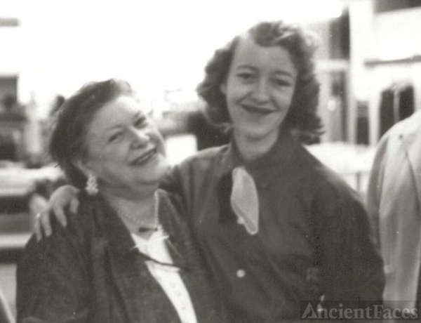 Lillian Germac & daughter Betty Wolfe