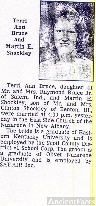 bruce and shockley marriage