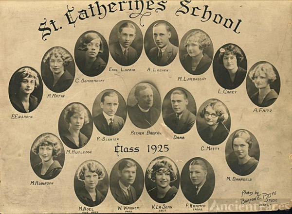St. Catherine's School - Class of 1925